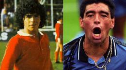عکس های قدیمی و خاص دیه گو مارادونا