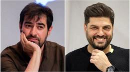 شهاب حسینی و سام درخشانی در تیم فوتبال هنرمندان