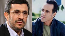 جنجال جدید احمدی نژاد :  این بار علی کریمی