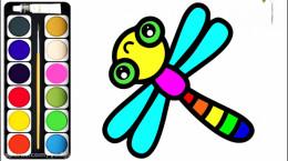 آموزش نقاشی به کودکان | این قسمت نقاشی شاپرک