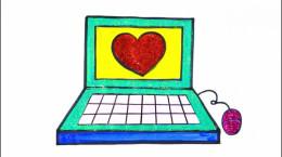 آموزش نقاشی به کودکان | این قسمت نقاشی لپ تاپ