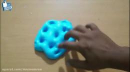 آموزش ساخت اسلایم با نمک و خمیر دندون