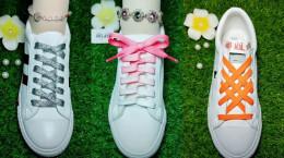 ۲۳ مدل بستن بند کفش دخترانه