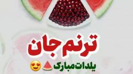 کلیپ عاشقانه تبریک شب یلدا اسم ترنم