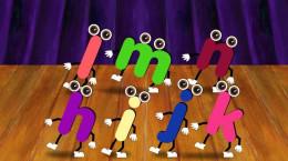 ۲۶ انیمیشن موزیکال انگلیسی آموزش abc الفبای انگلیسی