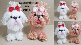 آموزش ساخت عروسک توله سگ پا کوتاه گوگولی