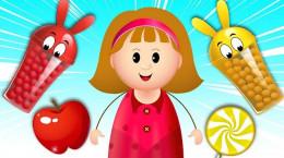 آموزش انیمیشنی اشکال، رنگ ها و میوهای انگلیسی به کودکان
