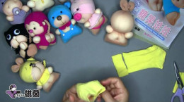 آموزش ساخت عروسک و جاکلیدی زیبا با جوراب زنانه