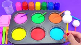 فیلم بازی با خمیر و رنگ ها برای کودکان