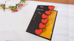 آموزش ساخت کارت پستال عاشقانه و لاکچری