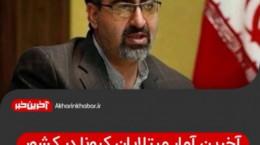 آخرین آمار مبتلایان ویروس کرونا در ایران ۹۸۸ فوتی