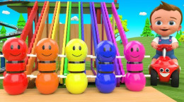 کارتون موزیکال رنگ ها مخصوص کودکان ۱ سال به بالا