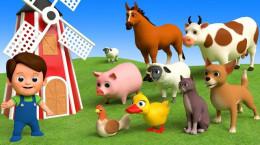 کارتون موزیکال آموزش اسم حیوانات مخصوص کودکان مهد و خردسالان