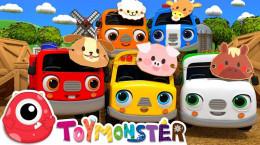 کارتون ماشین ها و حیوانات کوچک برای بچه های مهد