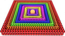 آموزش موزیکال رنگ ها با ماشین و توپ های رنگی