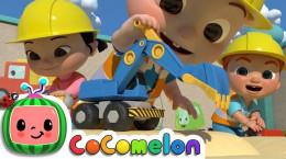 انیمیشن کوکوملون برای کودکان مهد Construction Vehicles Song