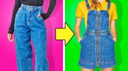 27 ترفند برای تغییر لباس های کهنه و قدیمی به لباس جدید