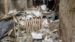 زلزله خوی ۳۶ مجروح بر جای گذاشت