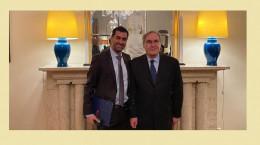 شهاب حسینی نشان شوالیه فرانسه را دریافت کرد + فیلم