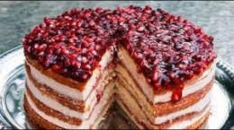 آموزش کیک انار مخصوص شب یلدا