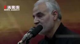 درخواست سردار سلیمانی از مردم برای روز تشییع پیکرش