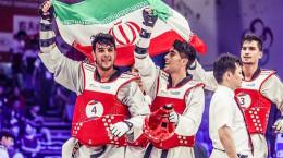 10 آهنگ به مناسبت قهرمانی تیم ملی تکواندو ایران