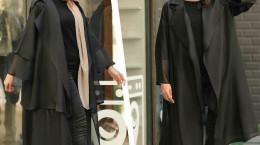30 مدل مانتو مشکی دخترانه برای محرم