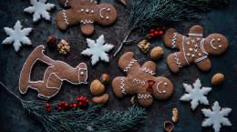 طرز تهیه بیسکوییت زنجبیلی آدمک مخصوص کریسمس
