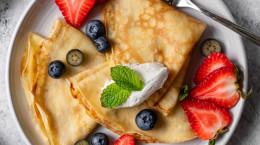 طرز تهیه کرپ صبحانه دلچسب و لاکچری + نکات مهم