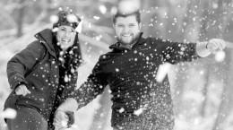 45 ژست دخترانه و پسرانه عکاسی در برف