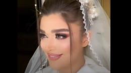 کلیپ آرایش عروس قبل و بعد