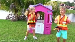 دیانا و روما و هیجان تعمیر خانه اسباب بازی