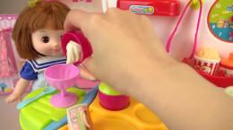 کارتون دخترانه عروسک بازی آشنایی با رنگ ها