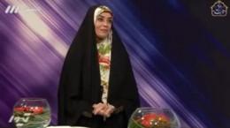 الهام چرخنده بعد از ۸ سال در گفتگو برنامه زنده تلویزیونی