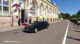 رئیس جمهور روسیه چگونه اسکورت میشود ؟