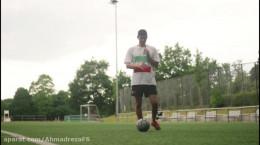 آموزش حرکات فریستایل فوتبالی سطح مبتدی