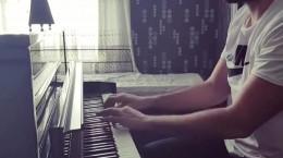 پیانو نوازی رضا اوحدی از شادمهر عقیلی