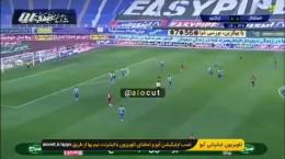 فیلم گل اول تراکتور به استقلال توسط خانزاده در فینال جام حذفی شهریور 99