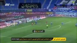 فیلم گل دوم تراکتور به استقلال توسط اشکان دژاگه در فینال جام حذفی شهریور 99