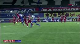 گل دوم استقلال به تراکتور توسط ارسلان مطهری فینال جام حذفی شهریور 99