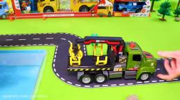 فیلم ماشین بازی با بیل مکانیکی، ماشین و کامیون