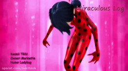 تغییر لباس های انیمیشن لیدی باگ
