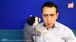 کلیپ خنده دار لقمه شو روحانی