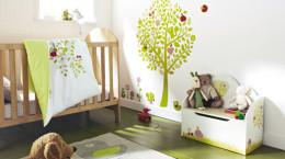 تزئین اتاق نوزاد با طرح های زیبا و خلاقانه