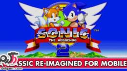 دانلود بازی سونیک Sonic The Hedgehog 2 v3.0.9 برای اندروید