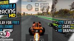 دانلود بازی Thumb Formula Racing v1.0 برای اندروید