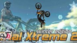 دانلود بازی موتور سواری Trial Xtreme 2 Winter v2.23 برای اندروید
