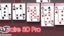 دانلود بازی Solitaire 3D Pro v3.2 برای اندروید