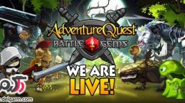 دانلود بازی نبرد الماس ها Battle Gems (AdventureQuest)  v1.0.5 + data برای اندروید