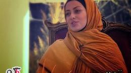 جدیدترین تصاویر نفیسه روشن در برنامه زنده رود/بهمن 92